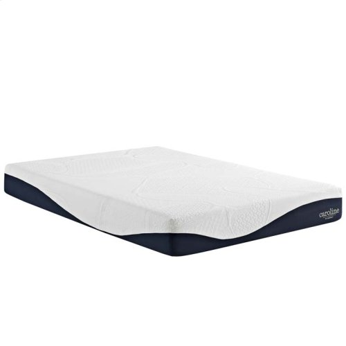 "Caroline 10"" King Memory Foam Mattress"