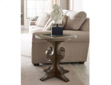 Warrick Round End Table
