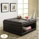 Coffee/Ottoman Table on casters with Flip Trays Product Image