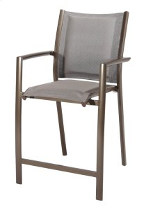 Emerald Home Talon Padded Barstool Bronze Od1311-25-2