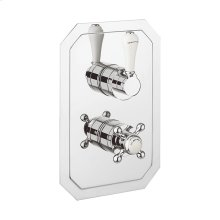 Belgravia 1500 Thermo Valve Trim (2 Outlets)