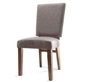 Terra Vista Side Chair Casual Walnut finish