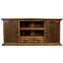 Large Reclaimed Wood TV Stand