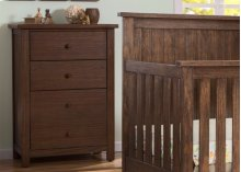 Northbrook 3 Drawer Chest - Rustic Oak (229)