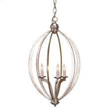 Bella Luna Silver Small Chandelier