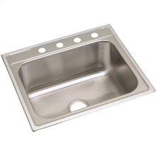 "Dayton Stainless Steel 25"" x 22"" x 10-1/4"", Single Bowl Drop-in Sink"