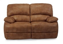 Dylan Leather Power Reclining Loveseat with Chaise Footrests