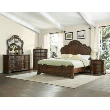 """Royale Rail for King or Queen Bed, 80.25""""x1.6""""x8"""""""
