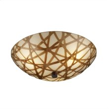 "18"" Semi-Flush Bowl w/ LED Lamping"