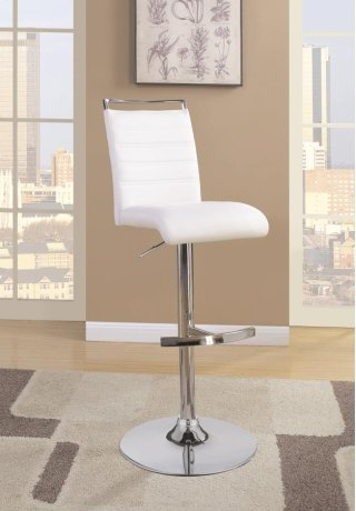 Barber Bar Stool White