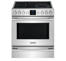 [PACKAGE] Frigidaire Professional 30'' Electric Front Control Freestanding. Price for individual item as part of a 4 piece kitchen package purchase only. Please call sales at (717)299-5641 for details.