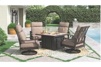 Square Fire Pit Table Product Image