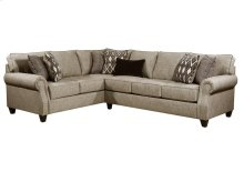 8010 Stationary Sectional