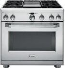 "36"" Pro Range - All Gas with 4 Griddle Product Image"