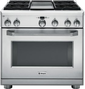 """36"""" Pro Range - All Gas with 4 Griddle"""