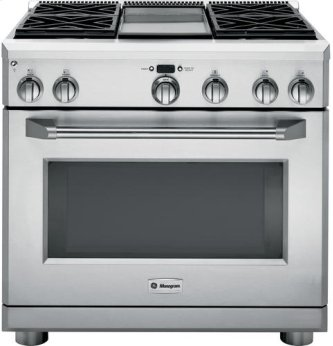 "36"" Pro Range - Dual Fuel with Griddle"