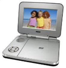 "7"" Portable DVD Player"