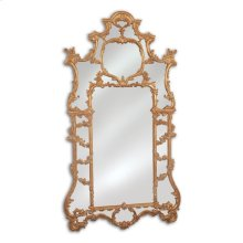 HAND-CARVED OVERSCALED BAROQUE MIRROR