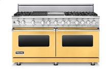 """60"""" Sealed Burner Dual Fuel Range, Natural Gas"""