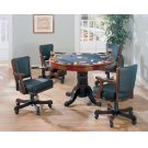 Mitchell Three-in-one Game Table and Four Arm Chairs Product Image