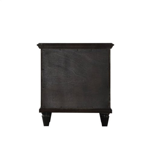 Emerald Home Home Decor 2 Drawer Night Stand-black B381-04blk