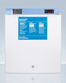 Compact Medical/scientific All-freezer With Digital Thermostat, Nist Calibrated Thermometer/alarm, and Front Lock