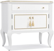 Mystique One-Drawer Two Door-Nightstand