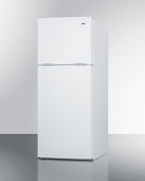 "24"" Wide 9.9 CU.FT. Frost-free Refrigerator-freezer In White Finish"