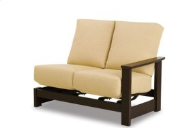 Left Arm Two-Seat Hidden Motion Sectional