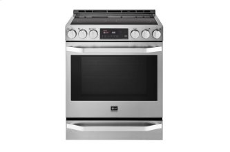 Studio- 6.3 CU.FT Capacity Slide-in Electric Range With Probake Convection