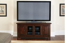 "Clairmont TV Cabinet, Black, 54"" x 18"" x 24"""