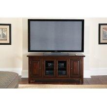 """Clairmont TV Cabinet, Black, 54"""" x 18"""" x 24"""""""