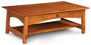 McCoy 1-Drawer Coffee Table