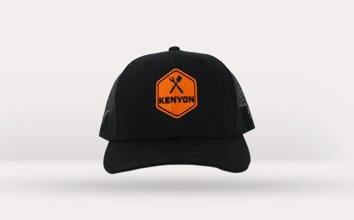 Kenyon Black Mesh Hat