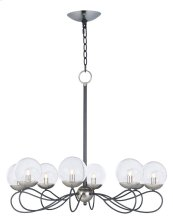 Reverb 8-Light Pendant w/LED Bulbs