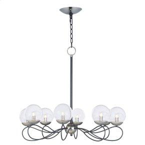 Reverb 8-Light Pendant w/LED Bulbs