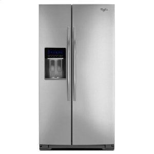 Gold® 30 cu. ft. Side-by-Side Refrigerator with Tap Touch Controls - MONOCHROMATIC STAINLESS STEEL
