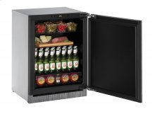 "2000 Series 24"" Solid Door Refrigerator With Integrated Solid Finish and Field Reversible Door Swing"