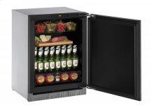 "2000 Series 24"" Solid Door Refrigerator With Integrated Solid Finish and Field Reversible Door Swing"