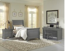 Sleigh Bed (available in twin or full)