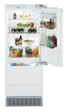 "30"" Combined refrigerator-freezer with NoFrost for integrated use Product Image"