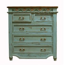 Turquoise Grande Chest