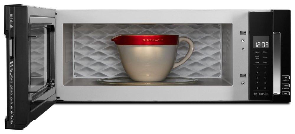 Kitchenaid 1000 Watt Low Profile Microwave Hood Combination Black