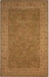 HERITAGE HALL HE20 GRE RECTANGLE RUG 5'6'' x 8'6''