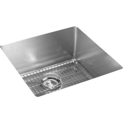 "Elkay Crosstown Stainless Steel 18-1/2"" x 18-1/2"" x 9"", Single Bowl Undermount Sink Kit"