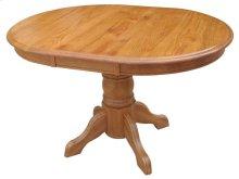 """Pedestal Table w/1-12"""" Leaf & Empire Feet"""