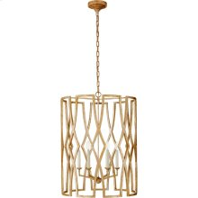 Visual Comfort NW5112VG Niermann Weeks Brittany 6 Light 24 inch Venetian Gold Foyer Lantern Ceiling Light, Niermann Weeks, Large