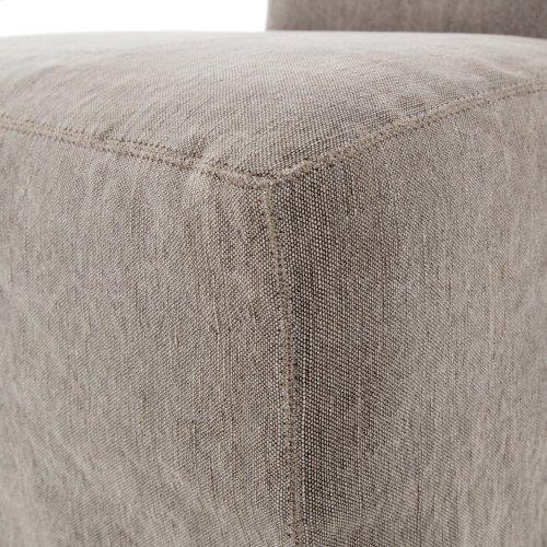 Vista Dining Chair-heather Twill Carbon