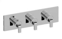 Immersion M-Series Valve Horizontal Trim with Three Handles