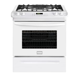 Gallery 30'' Slide-In Gas Range - WHITE